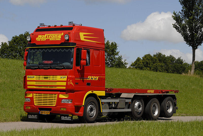 DAF XF95 series  truck technical data  Truck specifications