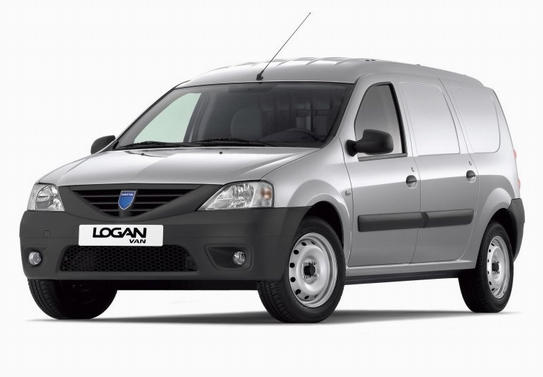 dacia logan van light trucks commercial vehicles technical data light trucks commercial. Black Bedroom Furniture Sets. Home Design Ideas