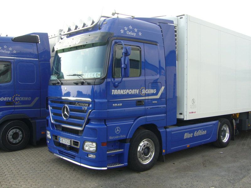 MERCEDES BENZ 4x2  truck technical data  Truck
