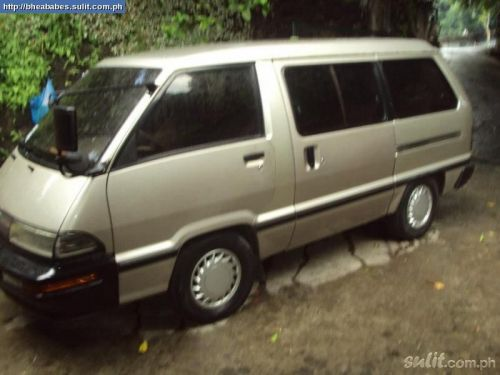 Toyota Lite Ace (3 rows of seats)